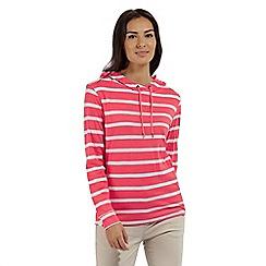 Regatta - Pink 'Modesta' striped jersey top