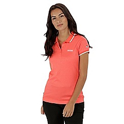 Regatta - Orange 'Remex' polo shirt