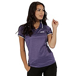 Regatta - Purple 'Remex' polo shirt