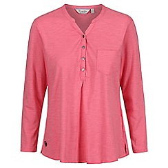 Regatta - Pink 'Franzea' jersey top