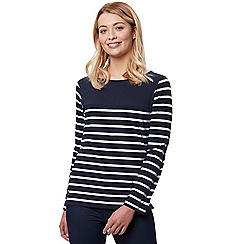 Regatta - Blue 'Faizah' striped long sleeved top