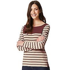 Regatta - Cream 'Faizah' striped long sleeved top