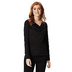 Regatta - Black 'Frayda' long sleeved top