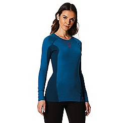 Regatta - Blue 'Beru' base layer top