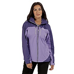 Regatta - Purple 'Calderdale' waterproof jacket