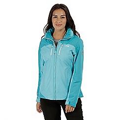 Regatta - Blue 'Calderdale' waterproof jacket