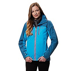 Regatta - Blue 'Calderdale' waterproof jacket