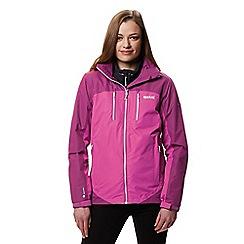 Regatta - Purple 'Calderdale' waterproof jacket