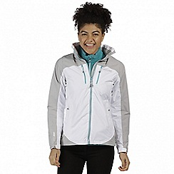 Regatta - White calderdale waterproof jacket