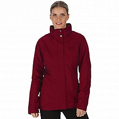 Regatta - Purple 'Daysha' waterproof jacket
