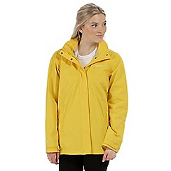 Regatta - Yellow 'Daysha' waterproof jacket