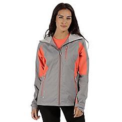 Regatta - Grey 'cross penine' waterproof jacket