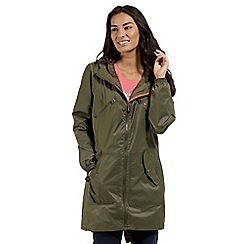 Regatta - Green 'Adeltruda' waterproof parka jacket