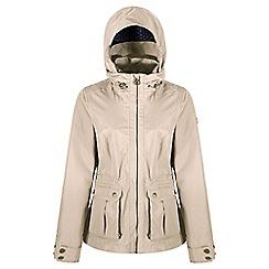 Regatta - Cream 'Nardia' waterproof jacket