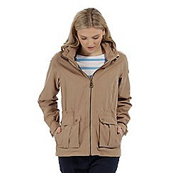 Regatta - Brown 'Nardia' waterproof jacket