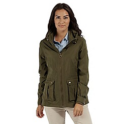 Regatta - Green 'Nardia' waterproof jacket