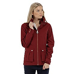Regatta - Red 'Nardia' waterproof jacket