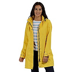 Regatta - Yellow 'Gracelynn' waterproof mac
