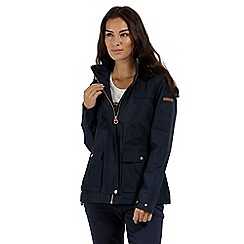 Regatta - Blue 'Landelina' waterproof jacket