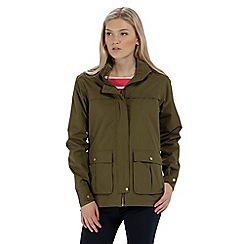 Regatta - Green 'Landelina' waterproof jacket