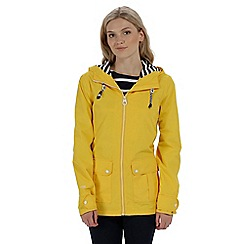 Regatta - Yellow 'Bayeur' waterproof jacket