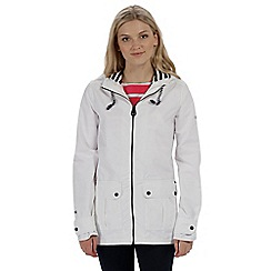 Regatta - White 'Bayeur' waterproof jacket