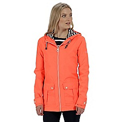 Regatta - Orange 'Bayeur' waterproof jacket