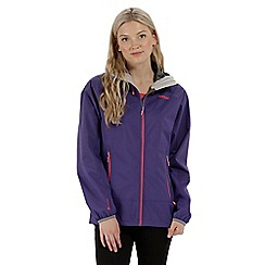 Regatta - Purple 'Montegra' waterproof jacket