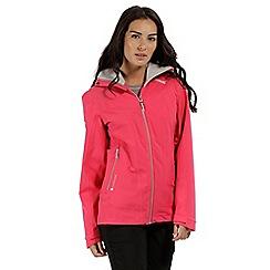 Regatta - Pink 'Oklahoma' waterproof jacket