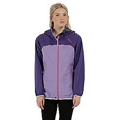 Regatta - Purple 'Imber' waterproof jacket