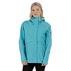 Regatta - Blue 'Semita' waterproof jacket