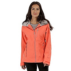 Regatta - Orange 'Birchdale' waterproof jacket