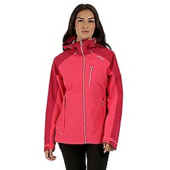 Regatta - Pink 'Birchdale' waterproof jacket