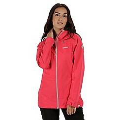 Regatta - Pink 'Hamara' waterproof jacket