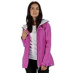 Regatta - Purple 'Hamara' waterproof jacket
