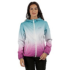 Regatta - Blue 'Leera' waterproof jacket