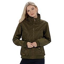 Regatta - Green 'Kadisha' bomber jacket