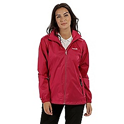 Regatta - Red 'Corinne' waterproof pack away jacket