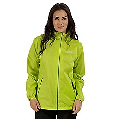 Regatta - Green 'Corinne' waterproof pack away jacket