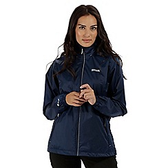 Regatta - Blue 'Corinne' waterproof packaway jacket