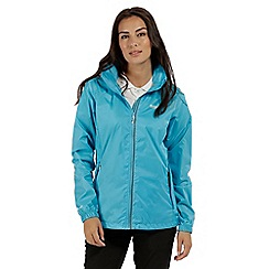 Regatta - Blue 'Corinne' waterproof pack away jacket