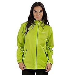 Regatta - Green 'Corinne' waterproof pack away jacket