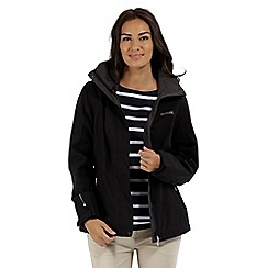 Regatta - Black 'Calyn' stretch waterproof jacket