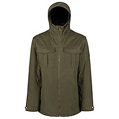 Regatta - Green 'Hanler' waterproof jacket