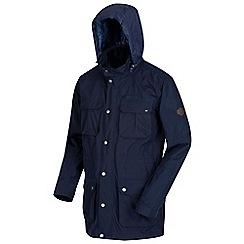 Regatta - Blue 'Edel' waterproof hooded jacket