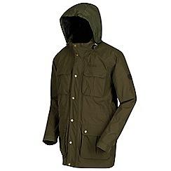 Regatta - Green 'Edel' waterproof hooded jacket