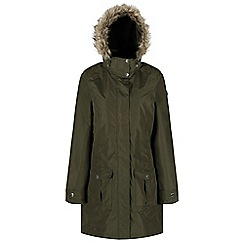 Regatta - Green 'Luxemia' ii waterproof parka