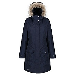 Regatta - Blue 'Luxemia' ii waterproof parka