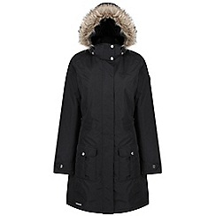 Regatta - Black 'Luxemia' ii waterproof parka
