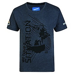Regatta - Kids Grey 'Heatshield' thunderbird t-shirt